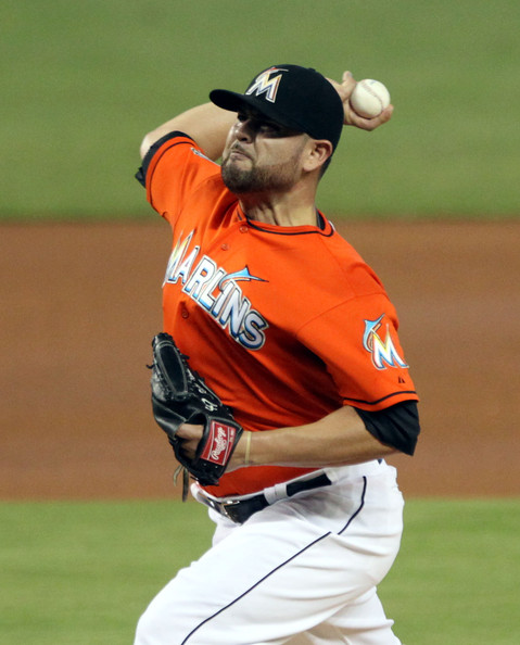 Mike Fiers Brewers: Milwaukee Brewers V Miami Marlins