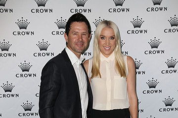 Ricky Ponting Rianna Ponting Crown's IMG Tennis Players' Party