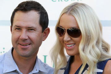 Ricky Ponting Rianna Ponting Australian Open Players Party