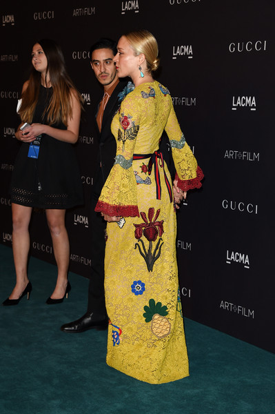 LACMA 2015 Art+Film Gala Honoring James Turrell and Alejandro G Inarritu, Presented by Gucci - Red Carpet [clothing,yellow,premiere,carpet,fashion,hairstyle,red carpet,dress,flooring,event,james turrell,ricky saiz,chloe sevigny,alejandro g inarritu,r,lacma,california,gucci,red carpet,lacma 2015 art film gala]