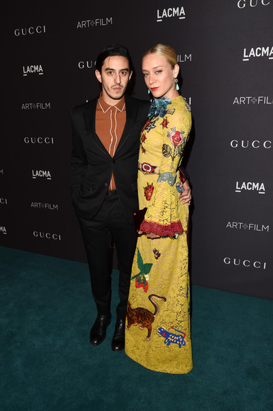 LACMA 2015 Art+Film Gala Honoring James Turrell and Alejandro G Inarritu, Presented by Gucci - Red Carpet [clothing,fashion,carpet,hairstyle,formal wear,yellow,premiere,dress,flooring,red carpet,james turrell,ricky saiz,chloe sevigny,alejandro g inarritu,r,lacma,california,gucci,red carpet,lacma 2015 art film gala]