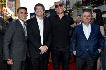 Ricky Strauss Alan Horn 'Guardians of the Galaxy' Premieres in Hollywood — Part 2