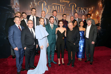 Ricky Strauss Alan Horn The World Premiere Of Disney's Live-Action 'Beauty And The Beast'