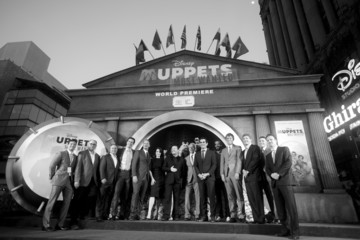 Ricky Strauss Sean Bailey 'Muppets Most Wanted' Premieres in Hollywood — Part 2