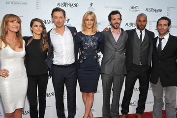 Ricky Whittle Georgia King 'Austenland' Premieres in Hollywood