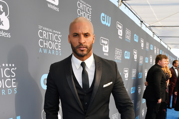 Ricky Whittle The 23rd Annual Critics' Choice Awards - Red Carpet