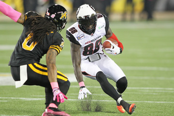 Rico Murray Ottawa Redblacks  v Hamilton Tiger-Cats