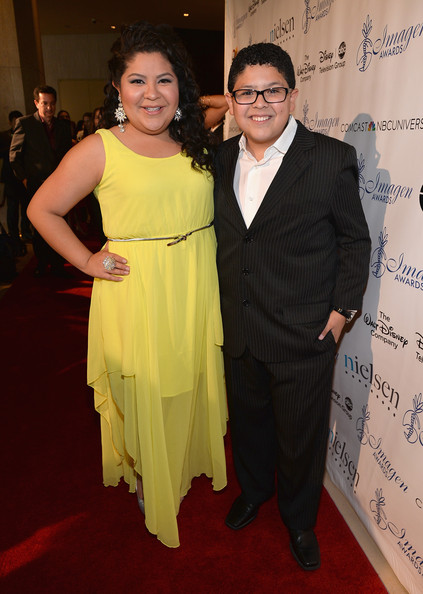 Rico Rodriguez Actors Raini Rodriguez and Rico Rodriguez arrive to the 28th Annual Imagen Awards at The Beverly Hilton Hotel on August 16, 2013 in Beverly Hills, California.