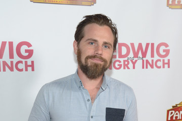 Rider Strong Opening Night of 'Hedwig and the Angry Inch' - Arrivals