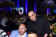 Fat Joe, DJ Khaled, and RIchie Akiva attend Rihanna's 5th Annual Diamond Ball Benefitting The Clara Lionel Foundation at Cipriani Wall Street on September 12, 2019 in New York City.