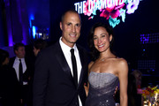 Nigel Barker and Cristen Barker attend Rihanna's 5th Annual Diamond Ball Benefitting The Clara Lionel Foundation at Cipriani Wall Street on September 12, 2019 in New York City.