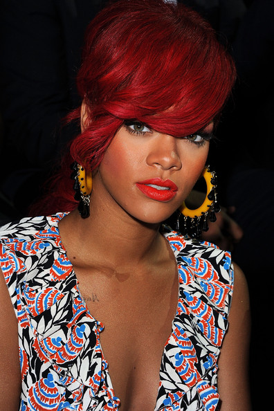 Rihanna Rihanna attends the Miu Miu Ready to Wear Spring/Summer 2011 show during Paris Fashion Week on October 6, 2010 in Paris, France.