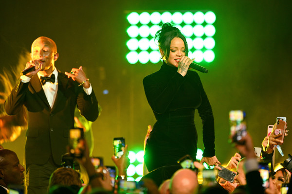 Rihanna's 5th Annual Diamond Ball Benefitting The Clara Lionel Foundation - Inside