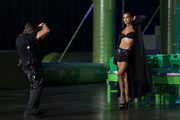 In this image released on October 2, Irina Shayk is seen onstage during Rihanna's Savage X Fenty Show Vol. 2 presented by Amazon Prime Video at the Los Angeles Convention Center in Los Angeles, California; and broadcast on October 2, 2020.