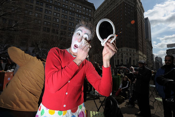 Peter Strauss Ringling Bros. And Barnum & Bailey Clown Alley Takes Over Herald Square