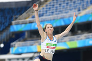 Marie-Amelie Le Fur of France competes in the Women's Long Jump - T44 final during the Rio 2016 Paralympic Games at Olymic stadium on September 9, 2016 in Rio de Janeiro, Brazil.