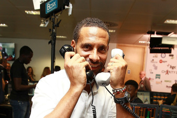 Rio Ferdinand BGC Annual Global Charity Day