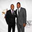 Jay Williams and Michael Strahan