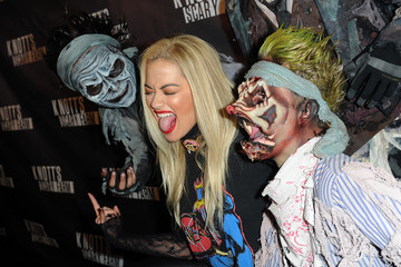 Rita Ora Knott's Scary Farm Black Carpet - Red Carpet