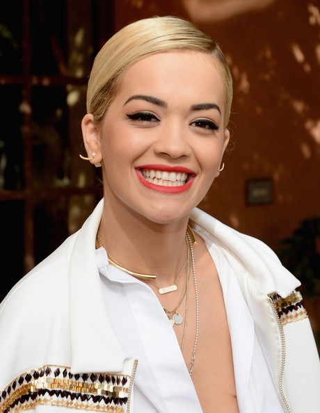 Rita Ora - Roc Nation Pre-GRAMMY Brunch Presented By MAC Viva Glam - Inside