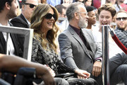 (L-R) Rita Wilson who received a star on the Hollywood Walk of Fame with husband Tom Hanks on March 29, 2019 in Hollywood, California.