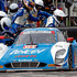 Scott Pruett Photos - The #01 Ford Riley of Memo Rojas and Scott Pruett makes a pit stop during the IMSA Tudor Series race at Road America on August 10, 2014 in Elkhart Lake, Wisconsin. - Road America