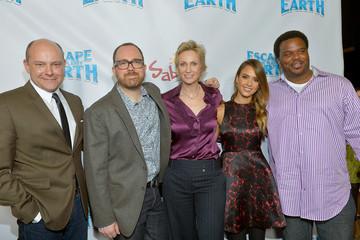 """Rob Corddry Craig Robinson """"Escape From Planet Earth"""" Premiere Presented By The Weinstein Company In Partnership with Sabra"""