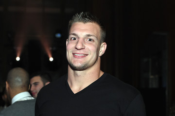 Rob Gronkowski GQ and LeBron James Celebrate All-Star Style - Inside