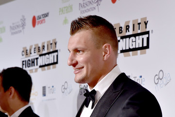 Rob Gronkowski Muhammad Ali's Celebrity Fight Night XXII - Red Carpet