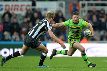 Rob Horne Newcastle Falcons vs. Northampton Saints - Aviva Premiership