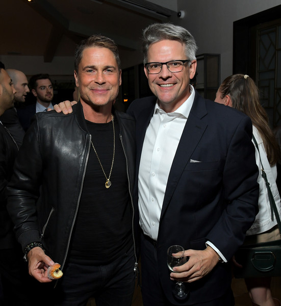 Rob Lowe Jimmy Townsend Rob Lowe Photos Netflix Holiday In The Wild Cast Crew Screening Zimbio