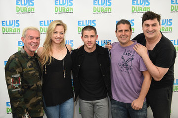 Rob Shuter Nick Jonas Visits 'The Elvis Duran Z100 Morning Show'