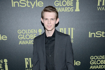 Robbie Kay Hollywood Foreign Press Association and InStyle Celebrate the 2016 Golden Globe Award Season