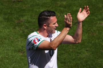 Robbie Keane Belgium v Republic of Ireland - Group E: UEFA Euro 2016