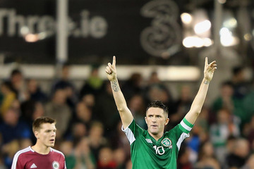 Robbie Keane Republic of Ireland v Latvia