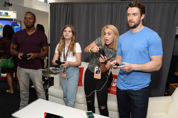 Robert Buckley Nintendo At The TV Insider Lounge At Comic-Con International 2017