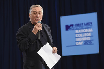 Robert De Niro 3rd Annual College Signing Day - Show
