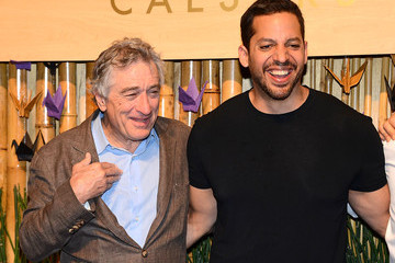 Robert De Niro Celebs Celebrate the Grand Opening of Nobu in Las Vegas