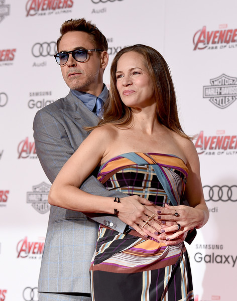 Premiere Of Marvel's 'Avengers: Age Of Ultron' - Red Carpet [avengers: age of ultron,red carpet,eyewear,premiere,event,award,fashion design,glasses,style,susan downey,robert downey jr,dolby theatre,california,hollywood,marvel,l,premiere]