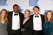 (L-R) Wendy Abrams, Chris Tucker, Kerry Kennedy, Bob Compton, and J.K. Rowling attend the Robert F. Kennedy Human Rights Hosts 2019 Ripple Of Hope Gala & Auction In NYC on December 12, 2019 in New York City.
