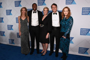 (L-R) Wendy Abrams, actor Chris Tucker, Kerry Kennedy, Bob Compton, and J.K. Rowling attend the Robert F. Kennedy Human Rights Hosts 2019 Ripple Of Hope Gala & Auction In NYC on December 12, 2019 in New York City.