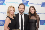 (L-R) Kerry Kennedy, Olivier Bernoux, Michaela Kennedy Cuomo attends Robert F. Kennedy Human Rights Hosts Annual Ripple Of Hope Awards Dinner on December 13, 2017 in New York City.