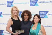 (L-R) Kerry Kennedy, Meera Gandhi and Alfre Woodard attend Robert F. Kennedy Human Rights Hosts Annual Ripple Of Hope Awards Dinner on December 13, 2017 in New York City.