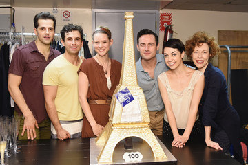 Robert Fairchild 'An American In Paris' Celebrates Their 100th Performance on Broadway