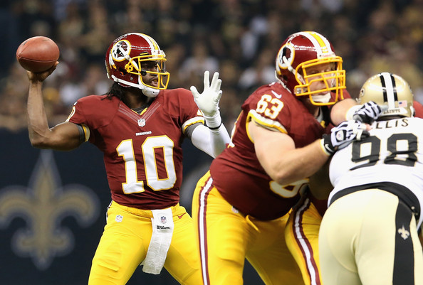 Robert Griffin III leads Redskins to upset win over Saints