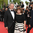 Robert Guediguian 'Invisible Demons' Red Carpet - The 74th Annual Cannes Film Festival