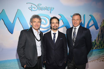 Robert Iger The World Premiere of Disney's 'Moana'