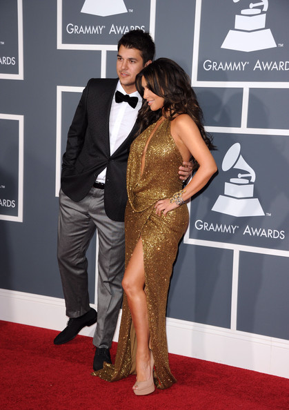 Robert Kardashian Jr. TV personalities Rob  Kardashian and Kim Kardashian arrives at The 53rd Annual GRAMMY Awards held at Staples Center on February 13, 2011 in Los Angeles, California.