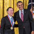 Robert Langer Obama Honors Winners Of The  Nat'l Medal Of Science, Technology, Innovation
