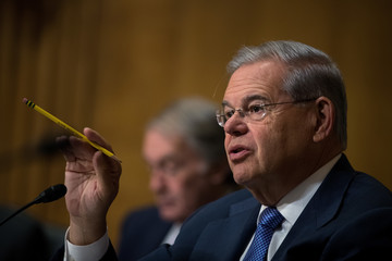 Robert Menendez Senate Foreign Relations Cmte Holds Hearing On Cartels And US Heroin Epidemic